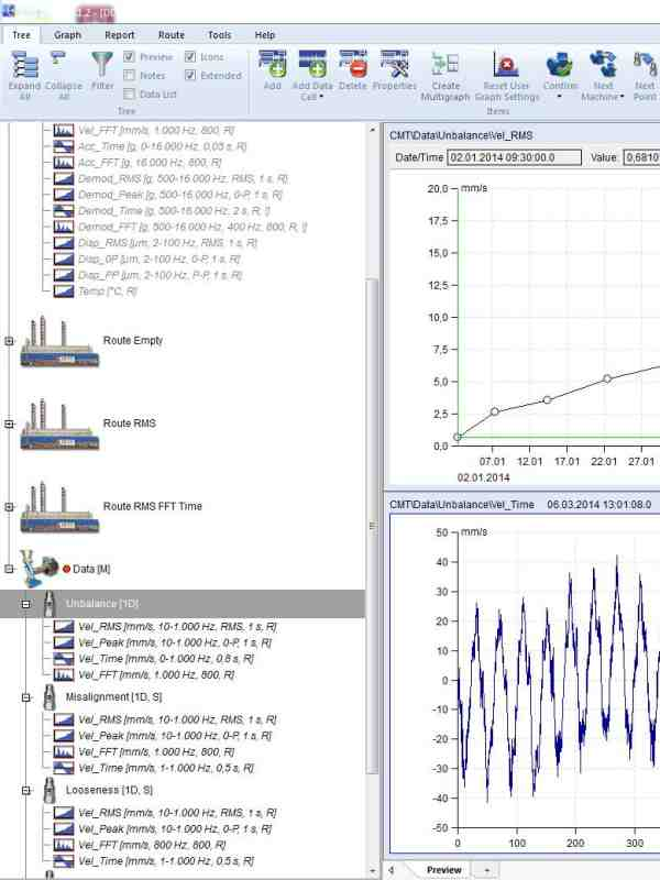 Screenshot from DDS analysis software